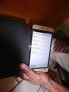 Niger smartphone